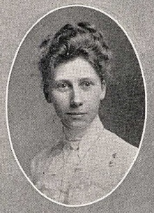 cora yearbook portrait