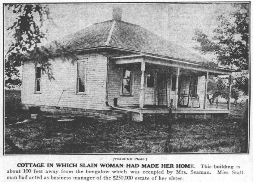 Cora's Cottage near Mattoon; 1922; Tribune Co