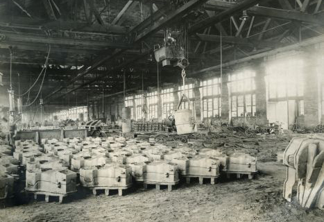 Finished cores at Int Harv, 1905
