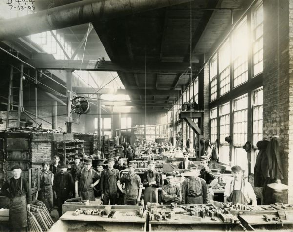 IH Core Room at Chicago, 1905
