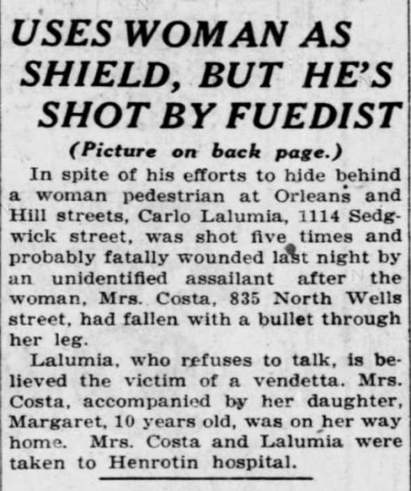 Chicago Tribune, May 23, 1922.