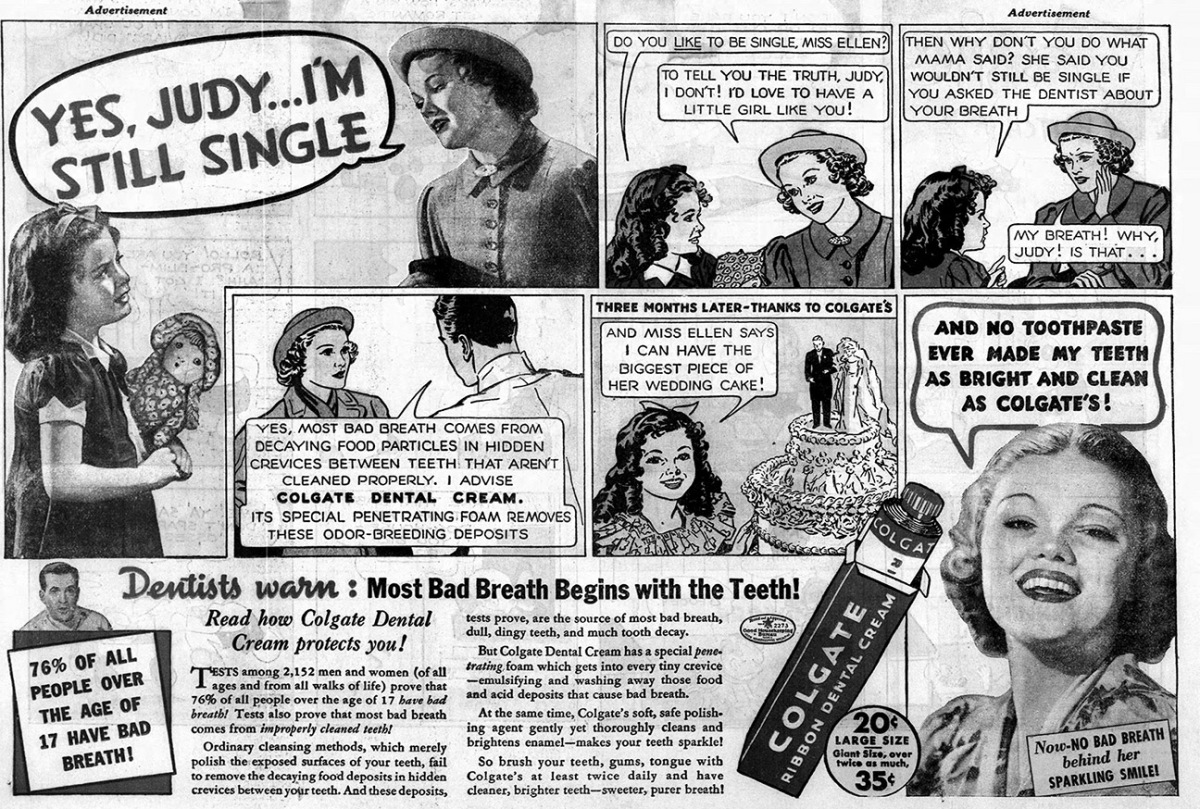 Old Ad of the Week: Still Single
