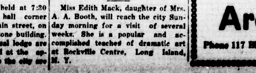 Bradentown Evening Herald; Dec. 20, 1924