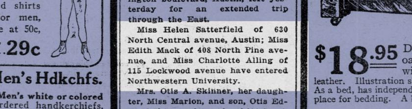 Chicago Examiner; Oct. 11, 1914