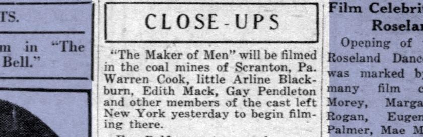 Daily News (New York); 15 Sep 1921