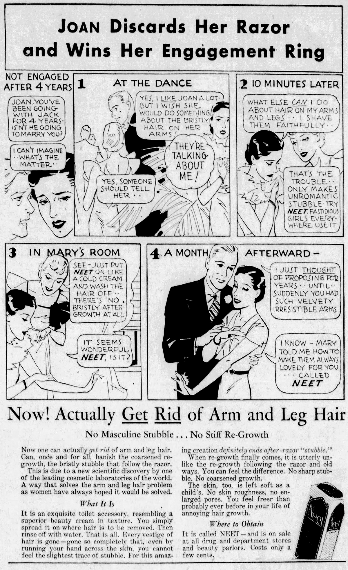 Old Ad of the Week: Velvety Irresistible Arms
