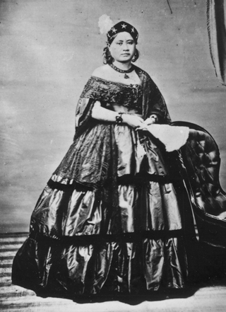 Princess Victoria Kamāmalu of Hawaii (1865).
