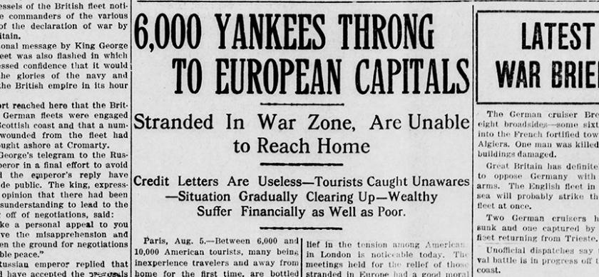war headline