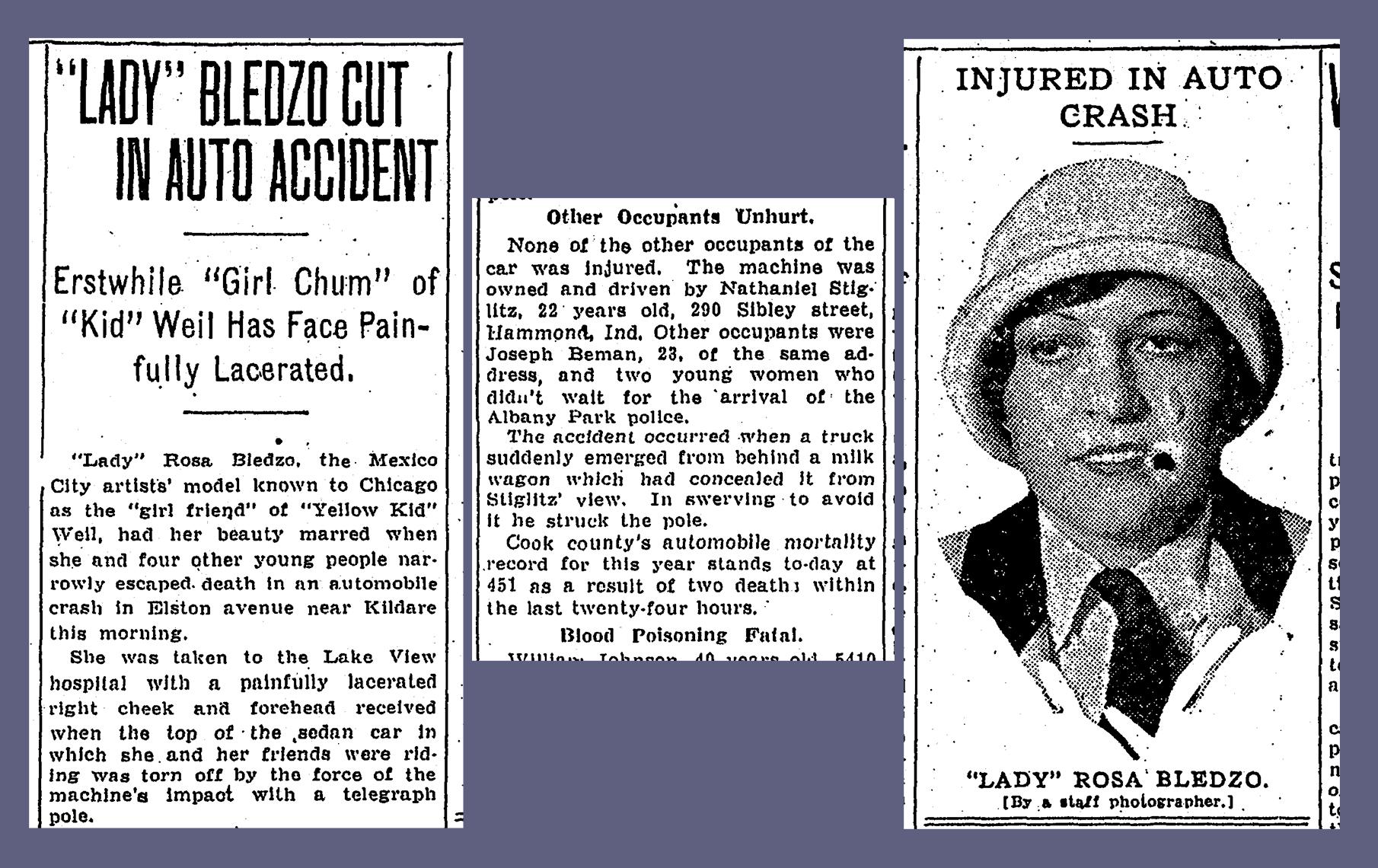 Chicago_Daily_News_1926-07-22_4 car crash