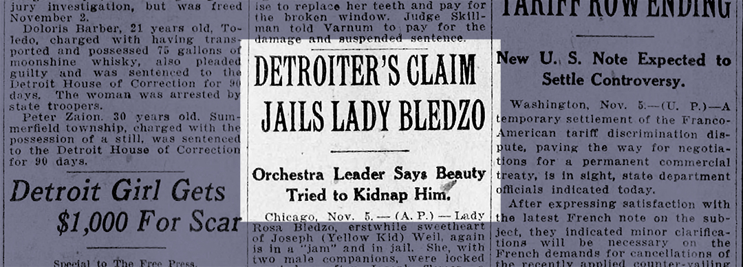 Unearthed: Lady Bledzo (Pt 4)
